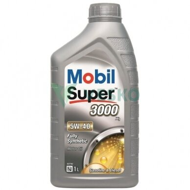 Variklinė alyva Mobil Super 3000 X1 5W40 2
