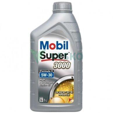 Variklinė alyva MOBIL SUPER 3000 FORMULA V 5W30 2