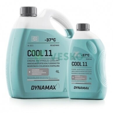 Aušinimo skystis DYNAMAX COOL AL 11 -37C mėlynas 3