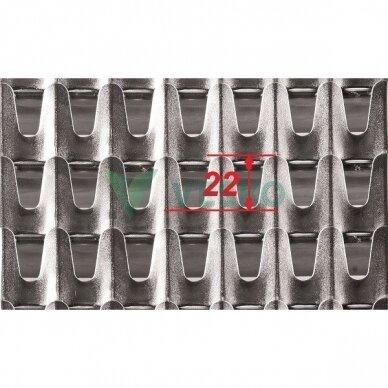Viršutinio Sieto Segmentas 22 mm 2
