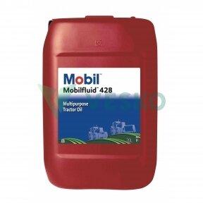 Daugiafunkcinė žemės ūkio technikos alyva Mobilfluid 428