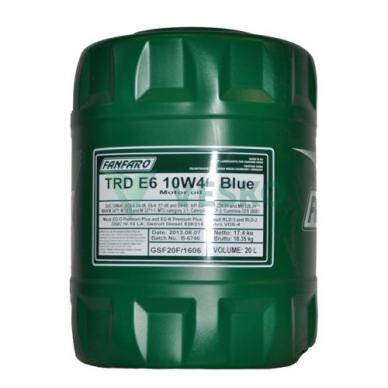 Variklinė alyva Fanfaro TRD E6 BLUE UHPD 10W-40 2