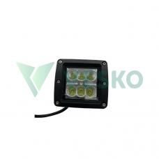 LED Žibintas 18W 10-30V 6 LED