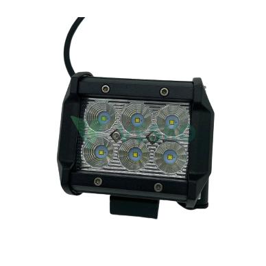LED Žibintas 18W, 10-30V, 6 CREE LEDx3Wb