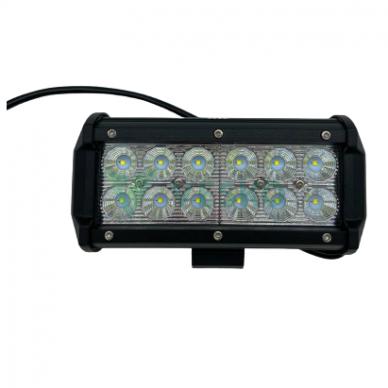 LED Žibintas 36W, 10-30V, 12 CREE LEDx3W