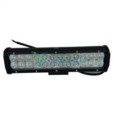 LED Žibintas 72W, 12-28V, 24 CREE LEDx3W