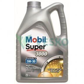 Variklinė alyva MOBIL SUPER 3000 FORMULA V 5W30