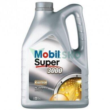 Variklinė alyva Mobil Super 3000 X1 5W40