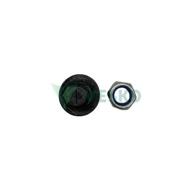 Žoliapjovės peiliuko varžtas su veržle M12x33 Kuhn 2